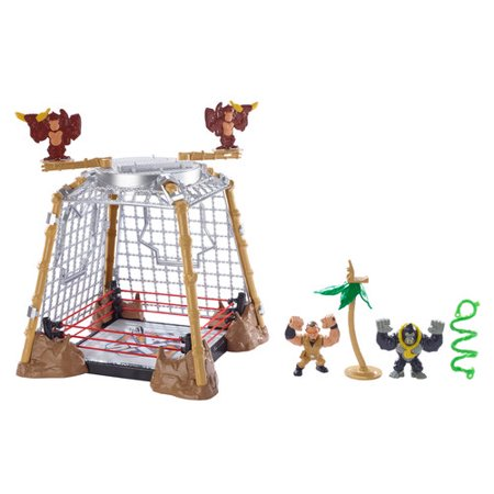 WWE Slam City Gorilla in a Cell Match Play Set