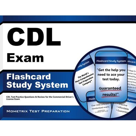 CDL Exam Flashcard Study System : CDL Test Practice Questions and Review for the Commercial Driver's License