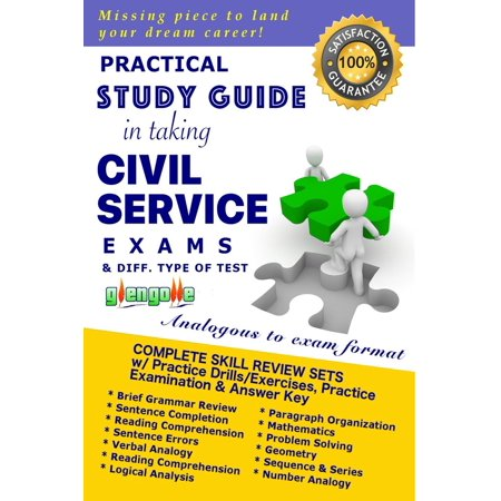 Practical Study Guide in Taking Civil Service Exam and Different Type of Test -