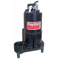DAYTON 4HU70 Pump Effluent, 1/2hp