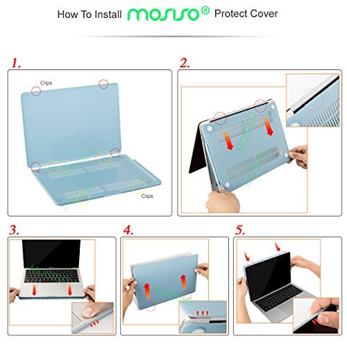 Plastic Hard Shell Case/&Keyboard Cover/&Screen Protector/&Storage Bag Compatible with MacBook Pro 15 Touch Bar Yellow MOSISO MacBook Pro 15 inch Case 2019 2018 2017 2016 Release A1990 A1707