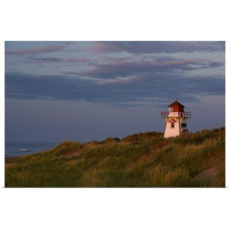 Great BIG Canvas | Rolled John Sylvester Poster Print entitled Covehead Lighthouse, Prince Edward Island National Park,