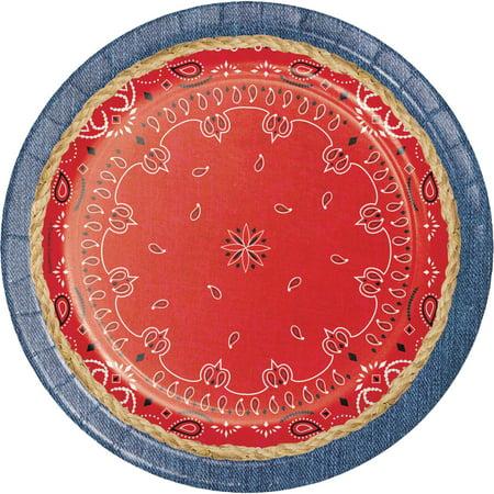 Bandanarama Paper Plates
