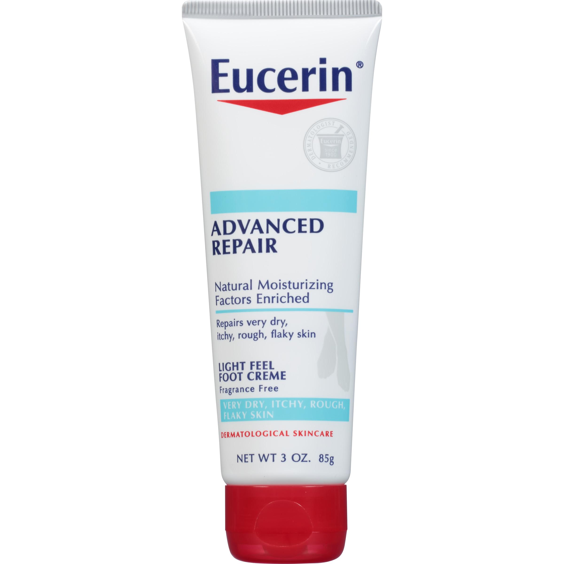 Eucerin Advanced Repair Foot Creme 3 oz.