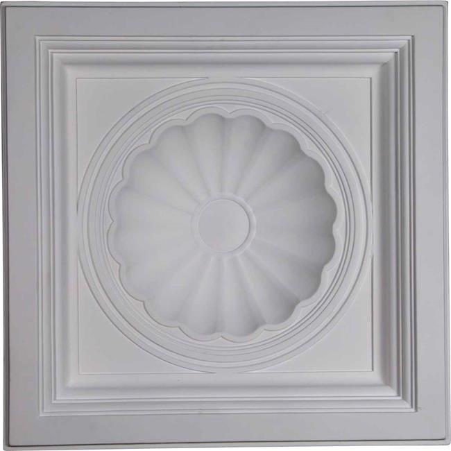 23.87 x 23.87 x 5.5 in. Shell Ceiling Tile