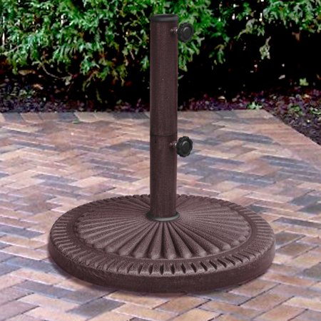 Blue Wave 66-lb Weather-Resistent Umbrella Base in Bronze Resin -