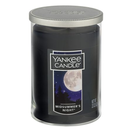 Yankee Candle Large 2-Wick Tumbler Candle, Midsummers Night