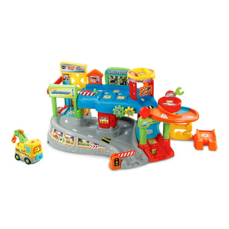 - VTech Go! Go! Smart Wheels Tow & Go Garage