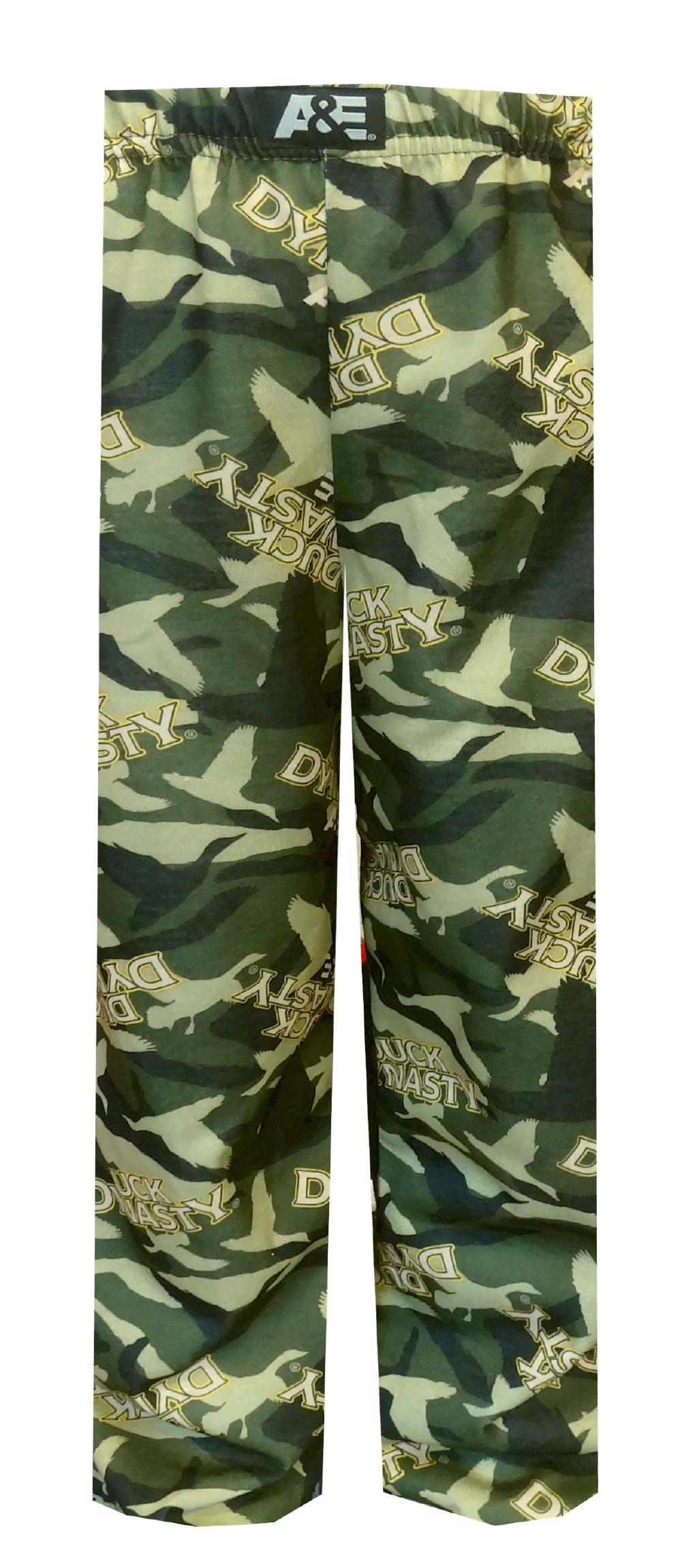 Duck Dynasty Men/'s Just Ducks Camo Microfleece Lounge Pants
