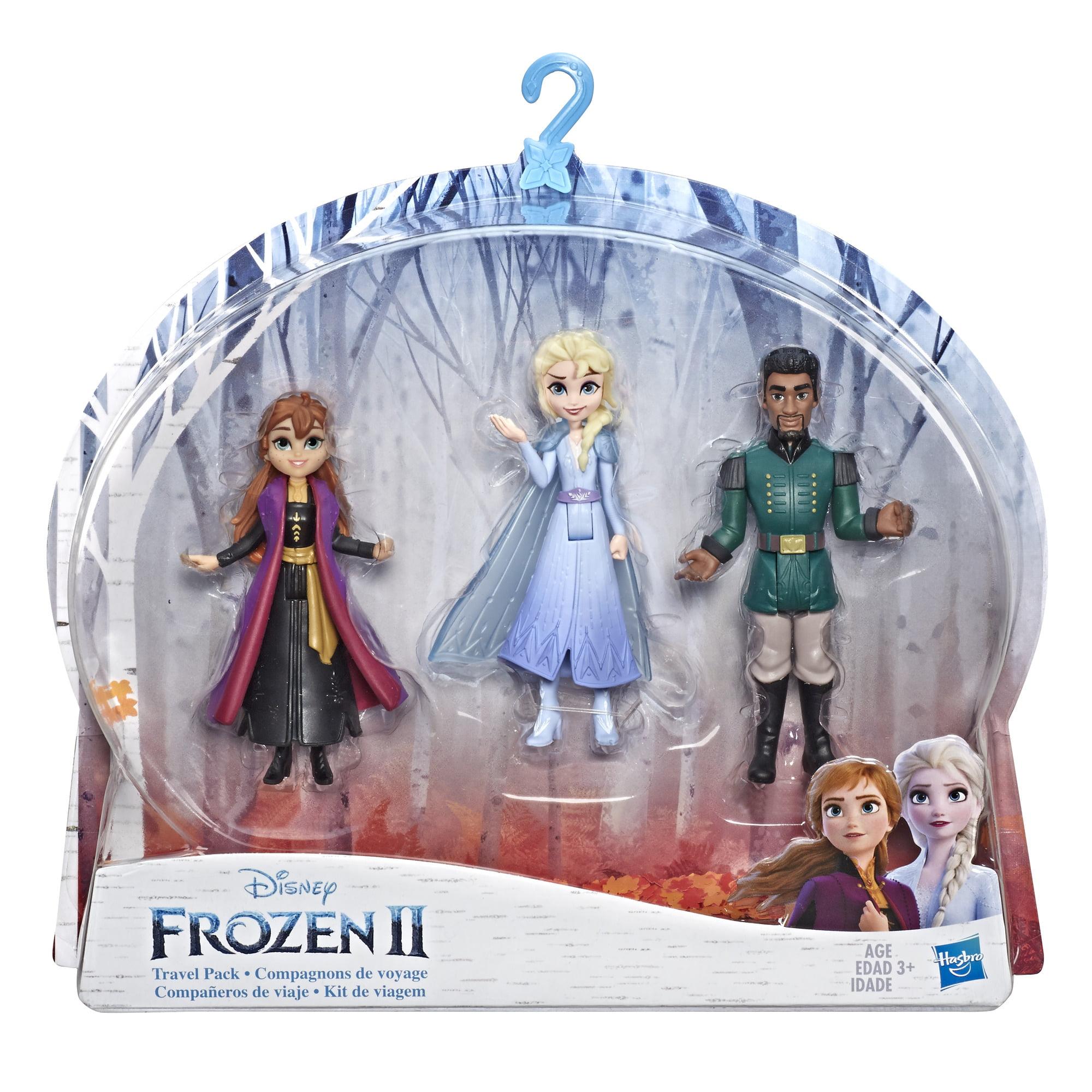 Disney Frozen 2 Small Doll Playset with Elsa, Anna & Mattias
