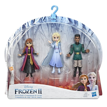 Disney Frozen 2 Small Doll Playset with Elsa, Anna & Mattias