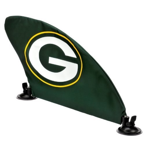 Green Bay Packers NFL Football Car Fin Team Logo Tailgate Auto Flag