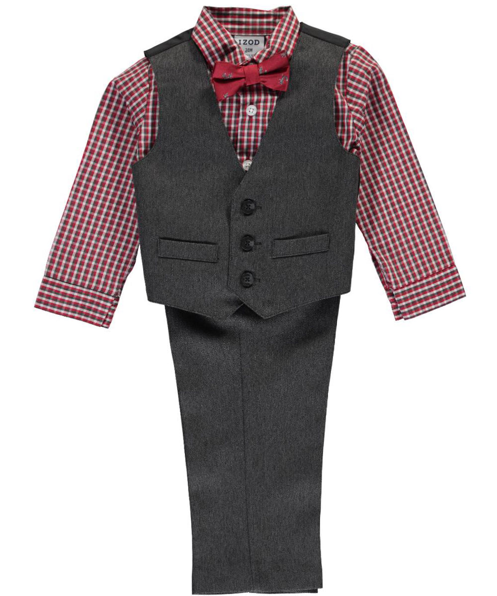 Izod Boys/' 4-Piece Vest Set