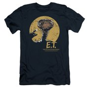 ET the Extra Terrestrial Moon Frame Mens Slim Fit Shirt