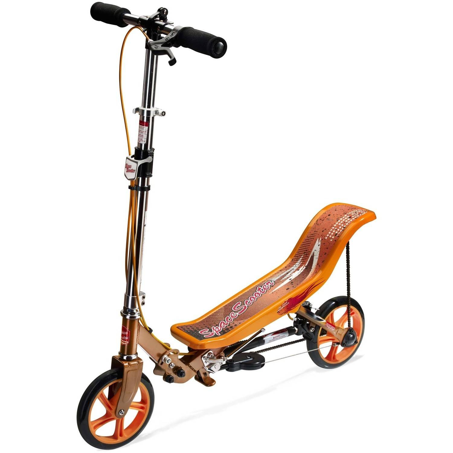 Space Scooter X580, Regular, Orange by Space Scooter