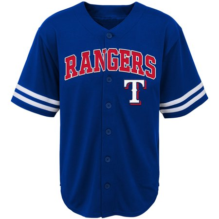 Youth Royal Texas Rangers Team Jersey