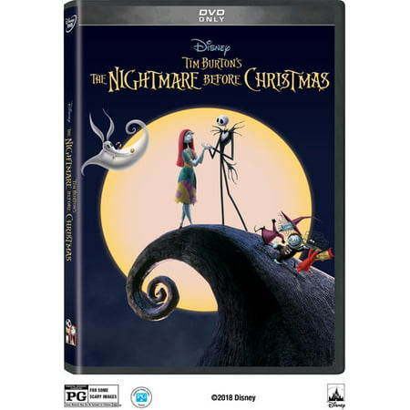 The Nightmare Before Christmas (25th Anniversary Edition) (DVD) - Halloween Falls On The Night Before