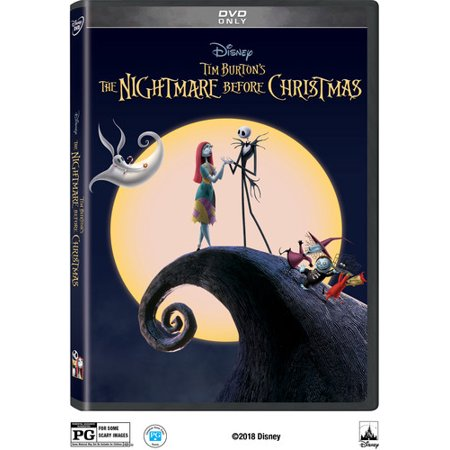 The Nightmare Before Christmas (25th Anniversary Edition) (DVD) (Halloween Music Nightmare Before Christmas)