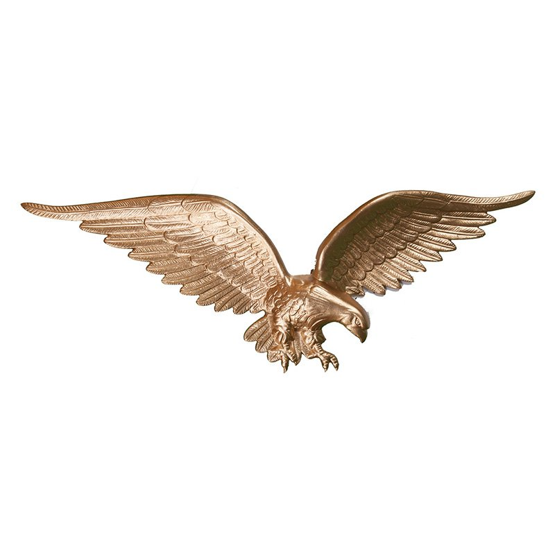 Gold Bronze Wall Eagle - 24 in.