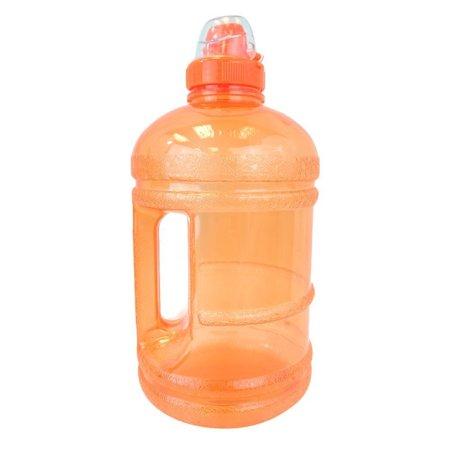 - 1/2 Gallon (64 oz.) BPA FREE Plastic Water Bottle w/ 48mm Twist Cap