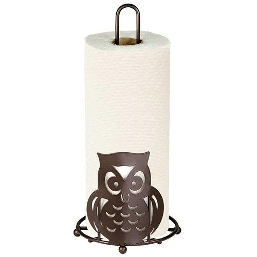 Sweet Home Collection Owl Free Standing Paper Towel Holde...