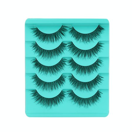 - BEAD BEE Big sale! 5 Pair/Lot Crisscross False Eyelashes Lashes Voluminous Hot Eye Lashes