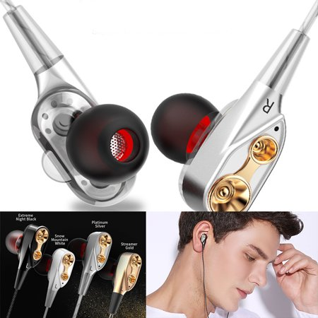 QKZ CK8 Wired Earbuds Earphone Sports Waterproof Earphone Headset Super Bass In-Ear Earphones with Mic 3.5mm Hifi Gold Plated Earphone;waterproof wired earphone;