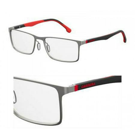 Carrera CA 8827 Eyeglasses 0R80 Semi Matte Dark (Dark Ruthenium Matte)
