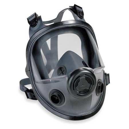HONEYWELL NORTH Full Face Respirator,Threaded,M/L 54001