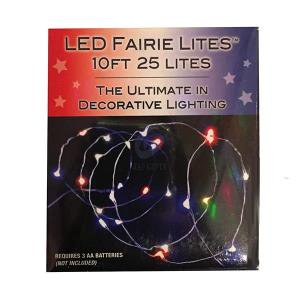 Battery Operated Red, White and Blue Alternating Light Set](Red White And Blue Lights)
