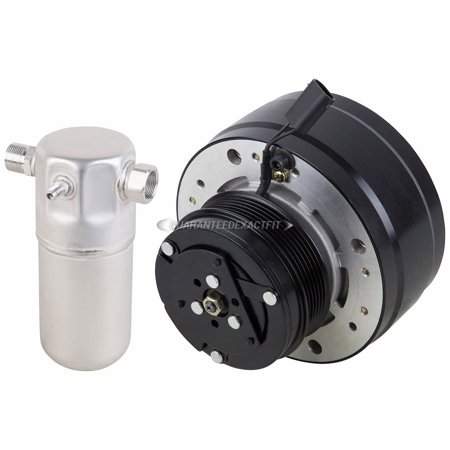 AC Compressor Clutch With A/C Drier For Chevy GMC C1500 C2500 C3500 - C1500 Suburban Clutch Kit