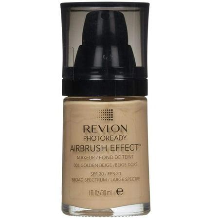 Revlon Photoready Airbrush Effect Makeup Golden Beige #008 + Cat Line Makeup Tutorial](Zombie Special Effects Makeup Tutorial)