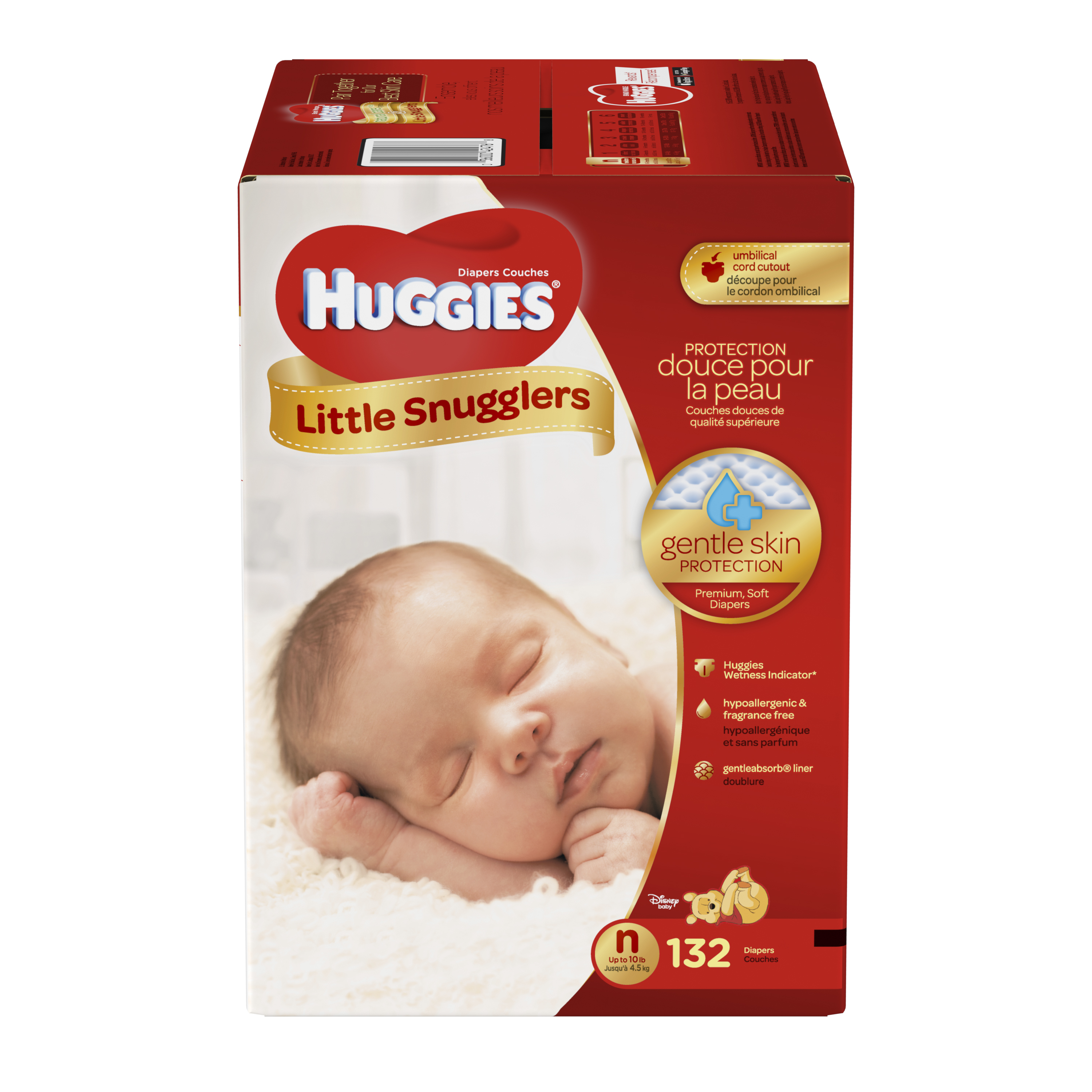 HUGGIES Little Snugglers Diapers (Choose Diaper Size and Count)