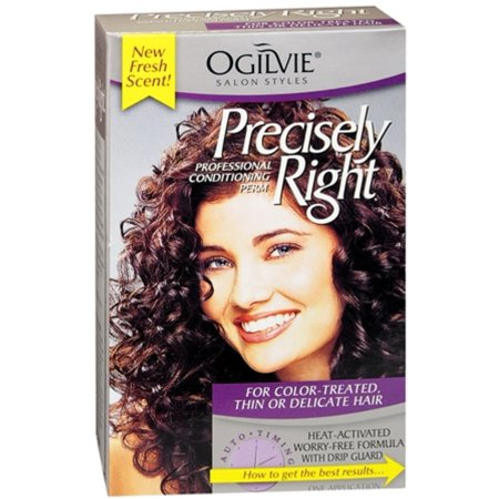 Ogilvie Precisely Right Perm Color-Treated, Thin or Delicate Hair 1 Each (Pack of (Best Products For Permed Hair)