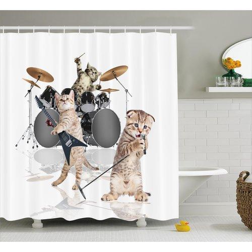 Zoomie Kids Frankie Shower Curtain