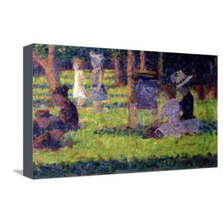Study for A Sunday Afternoon on the Island of La Grande Jatte,