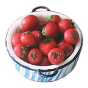 Dollhouse Tomatoes In Pan