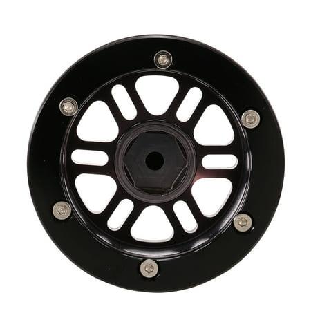 "4pcs 1/10 Metal Alloy 1.9"" Wheel Rim Beadlock for 1/10 Traxxas HSP Redcat Tamiya Axial SCX10 D90 Hpi 4WD RC Crawler Car - image 3 of 7"