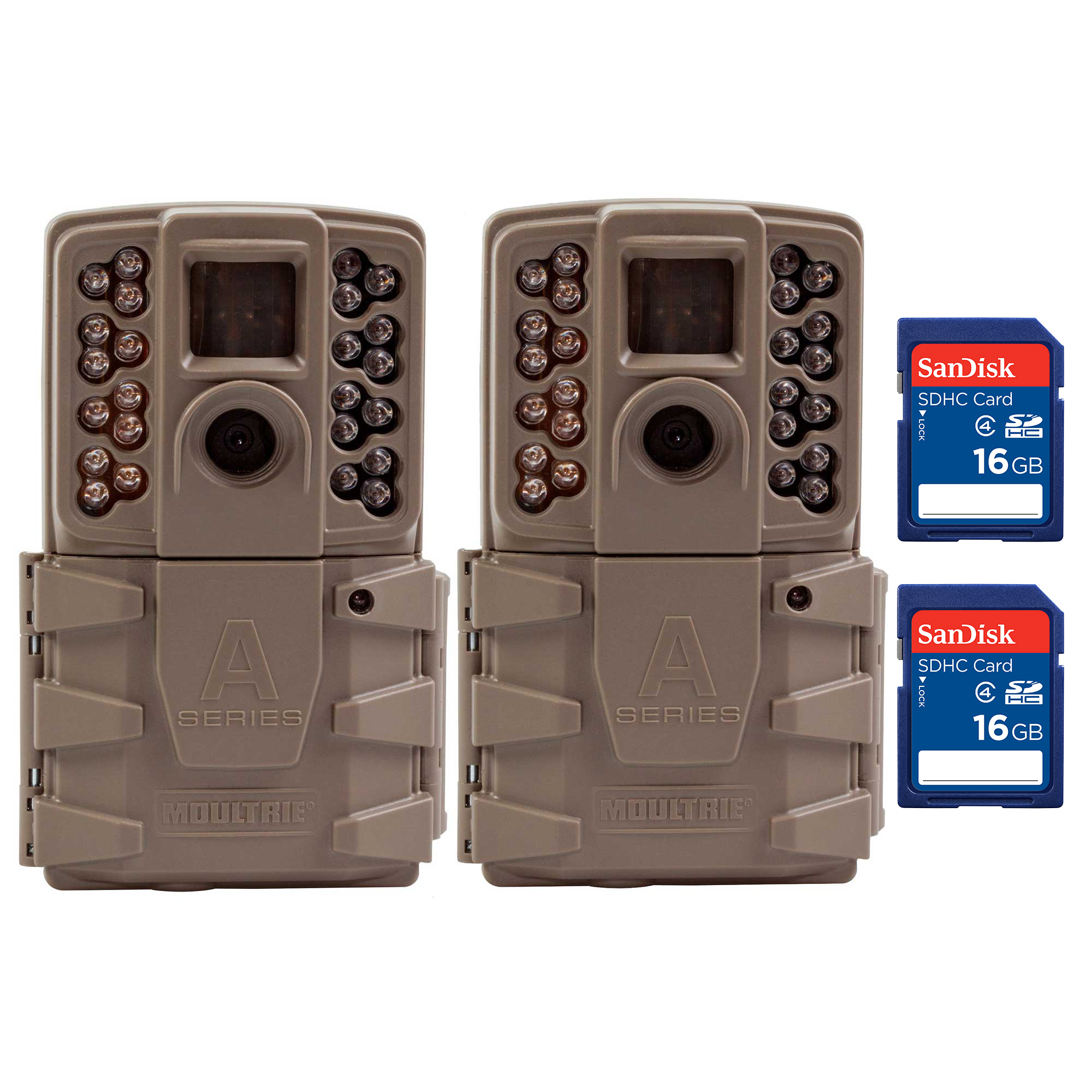 Moultrie A30 12MP 60' Video LowGlow IR Game Trail Camera ...