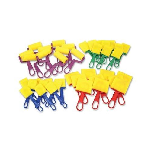 ChenilleKraft Foam Brushes/Rollers Classroom Pack CKC5212