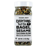 TJ's Everything but the Bagel Sesame Seasoning Blend 2.3 Oz