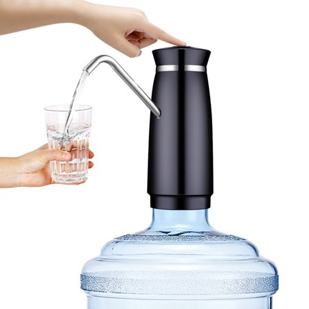 USB Rechargeable Portable Electric Water Pump Dispenser Gallon Drinking Bottle Automatic Switch Pump - image 3 de 7