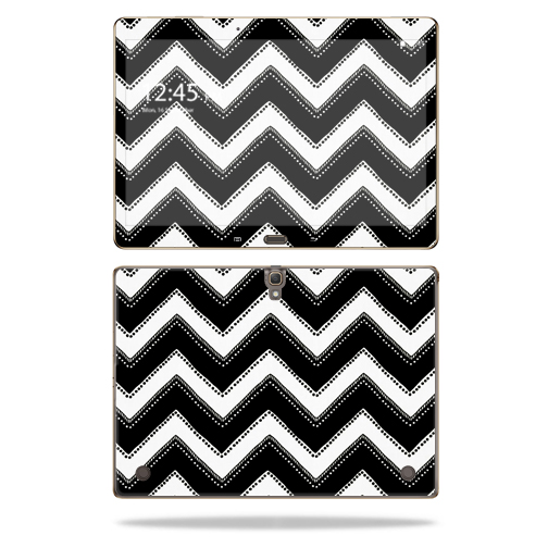 "Mightyskins Protective Vinyl Skin Decal Cover for Samsung Galaxy Tab S 10.5"" T800 wrap sticker skins Chevron Style"
