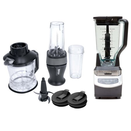 Nutri Ninja 2-in-1 Blender + XL Blender with Pulse (Certified Refurbished)