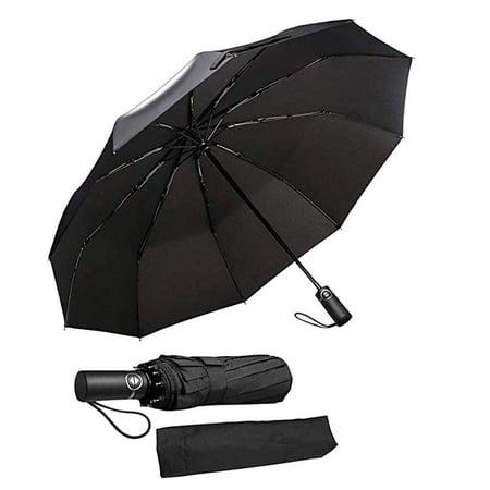 【LNCDIS】Premium Windproof Umbrella Elegant & Simple Compact for Travel Heavy Duty & Foldable