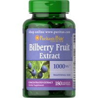 Puritans Pride Bilberry 1000 mg180 Softgels