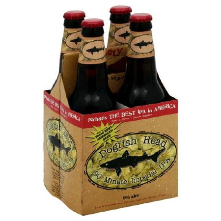 Dogfish Head 90 Min IPA, 6 pack, 12 fl oz - Walmart com