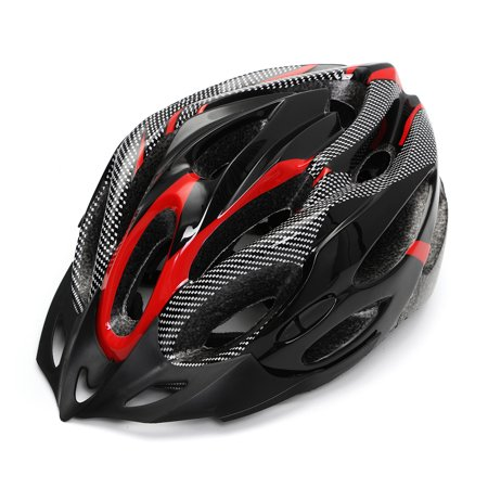 Safety Adjustable Bicycle Bike Adult Helmet Cycling Road Carbon Visor Mountain for Mens Women Boys (Best Road Bike Helmet Under 100)