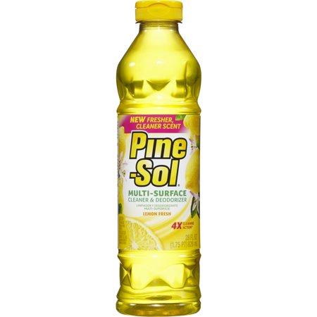 Pine-Sol Multi-Surface Cleaner, Lemon Fresh, 28 oz Bottle