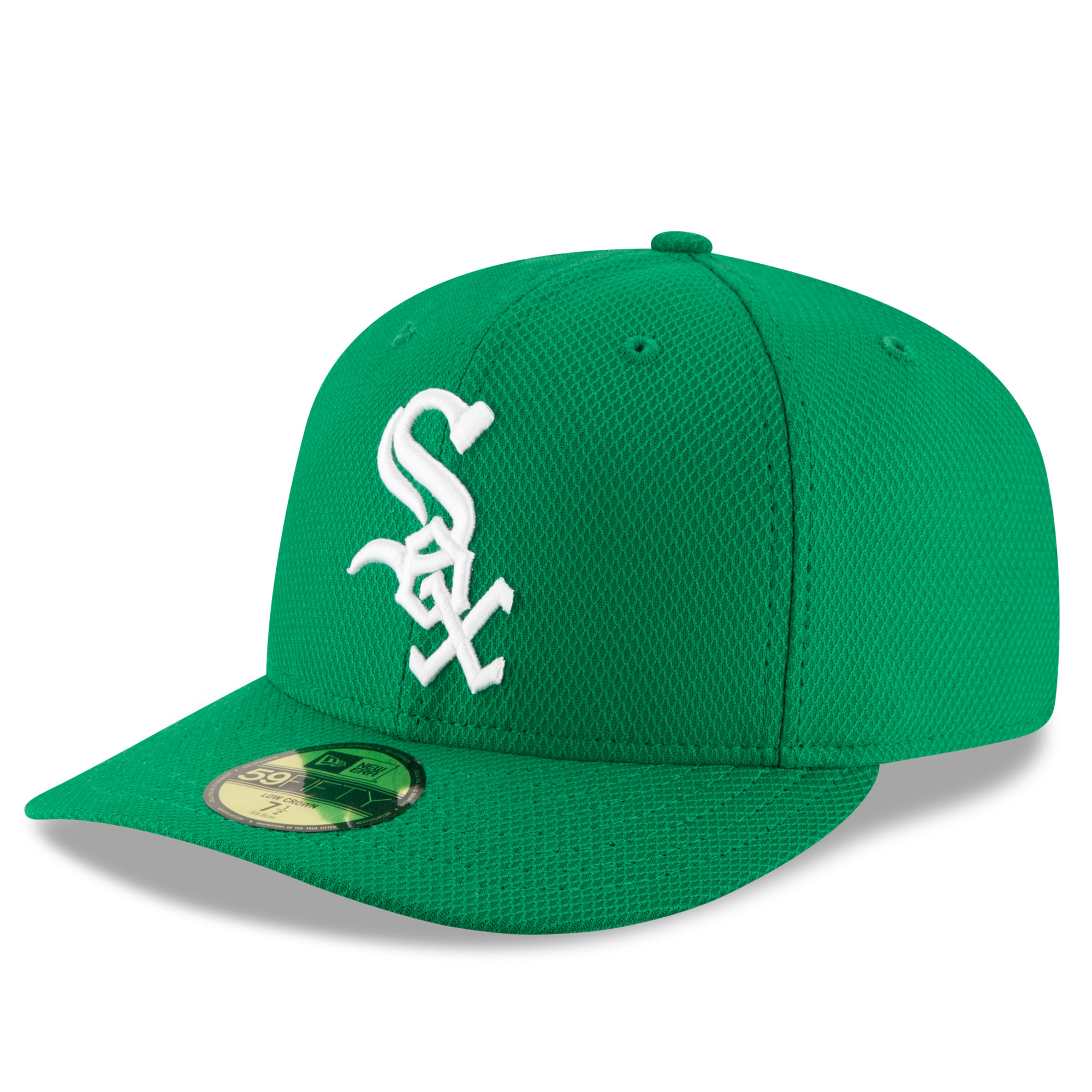 Chicago White Sox New Era St. Patrick's Day Diamond Era Low Profile 59FIFTY Fitted Hat - Green